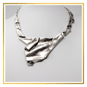Tribal Waves Necklace - Elegant-Heritage-Finds