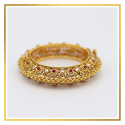 Mesh Bangle - Elegant-Heritage-Finds