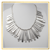 Tribal Teardrop Necklace - Elegant Heritage Finds