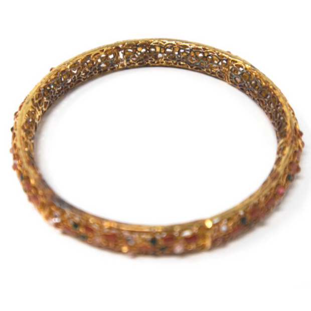 Meena Mystique Bangle - Elegant Heritage Finds