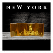 New York In Handcrafted Fused-Glass - Elegant Heritage Finds