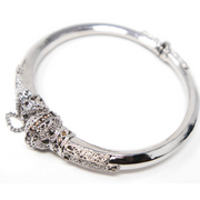 Sterling Silver Bangle - Elegant Heritage Finds