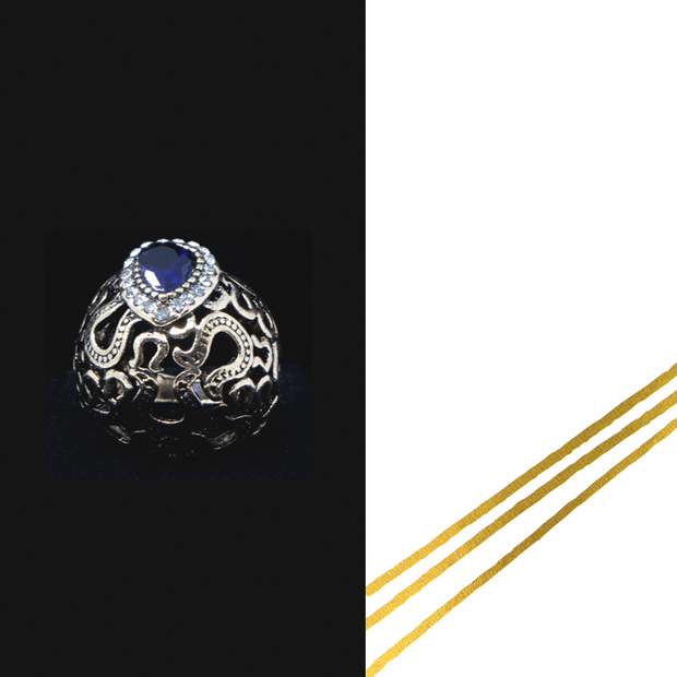 Turkish Dome Ring - Elegant Heritage Finds