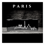 Paris In Handcrafted Fused-Glass - Elegant Heritage Finds