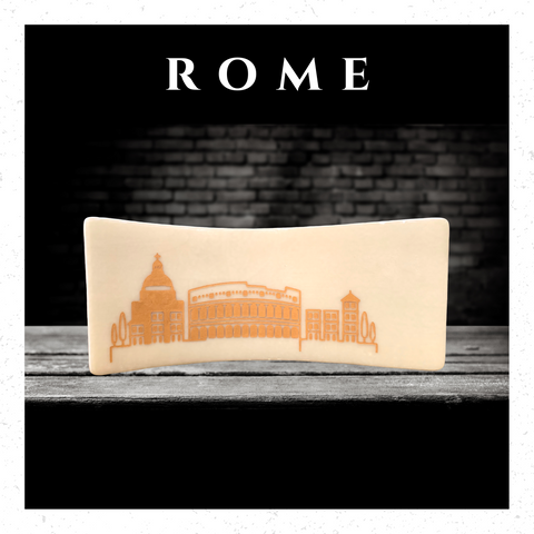 Rome In Handcrafted Fused-Glass - Elegant-Heritage-Finds