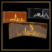 London In Handcrafted Fused-Glass - Elegant Heritage Finds