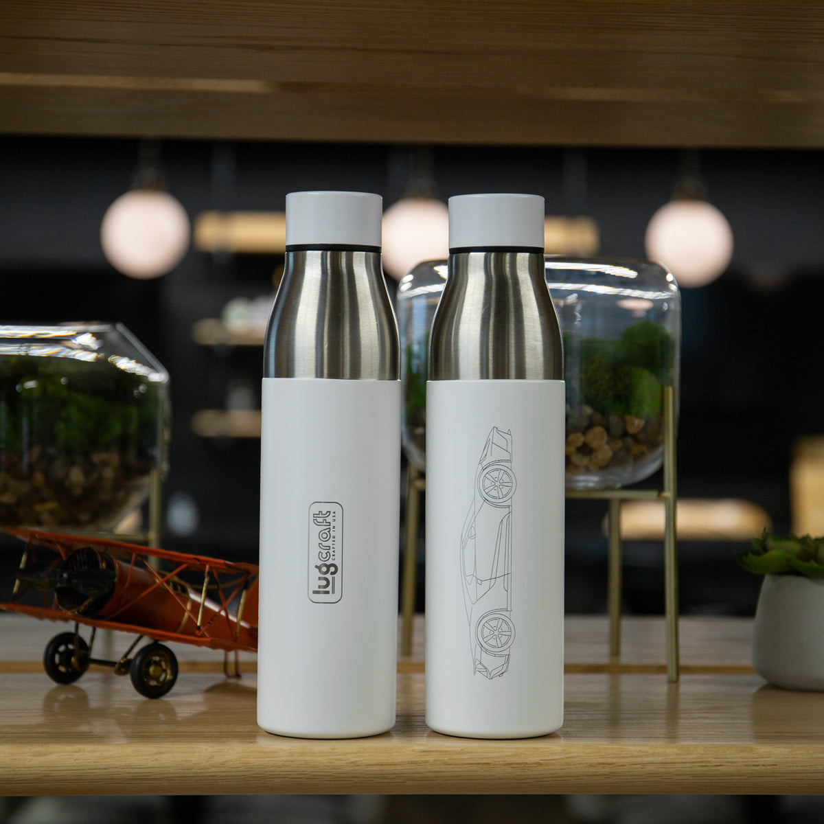 Ford GT Insulated Stainless Steel Water Bottle - 21 oz