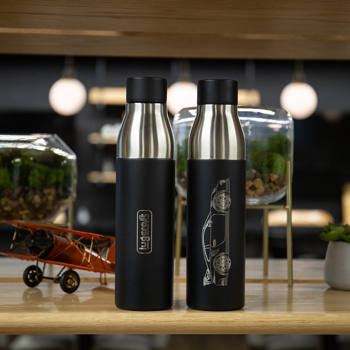 Porsche 911 GT3RS Insulated Stainless Steel Water Bottle - 21 oz