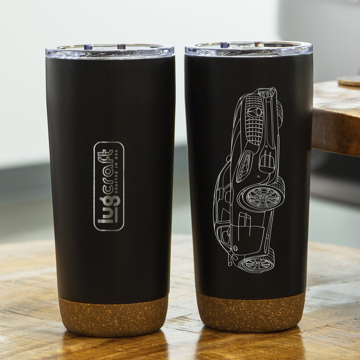Mercedes Benz AMG GTR Pro Insulated Stainless Steel Coffee Tumbler - 20 oz