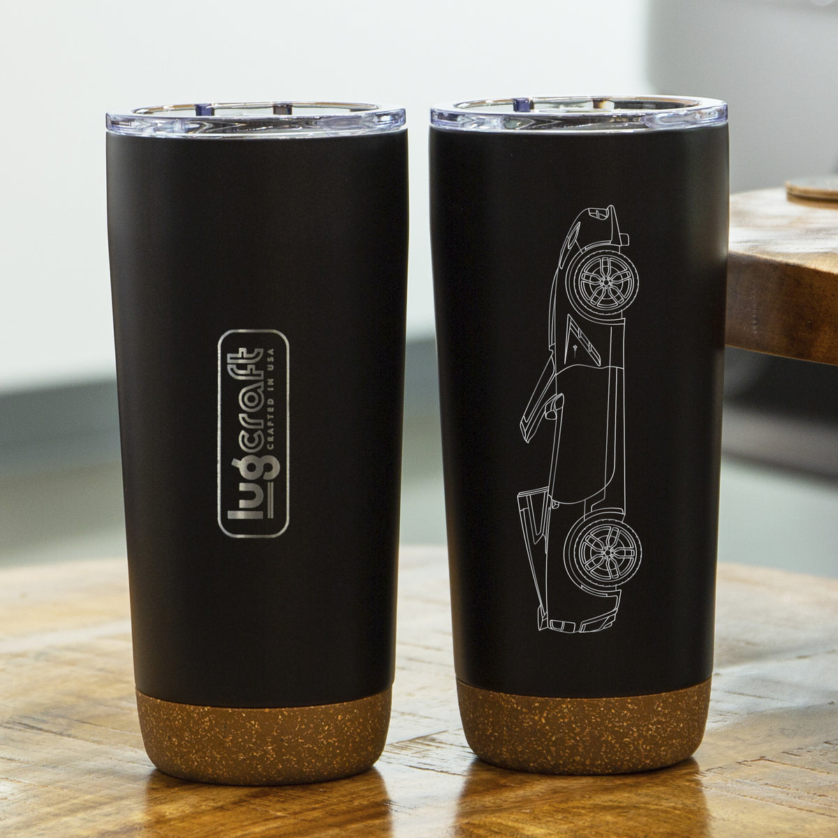 Chevy Corvette C7 Stingray Insulated Stainless Steel Coffee Tumbler - 20 oz