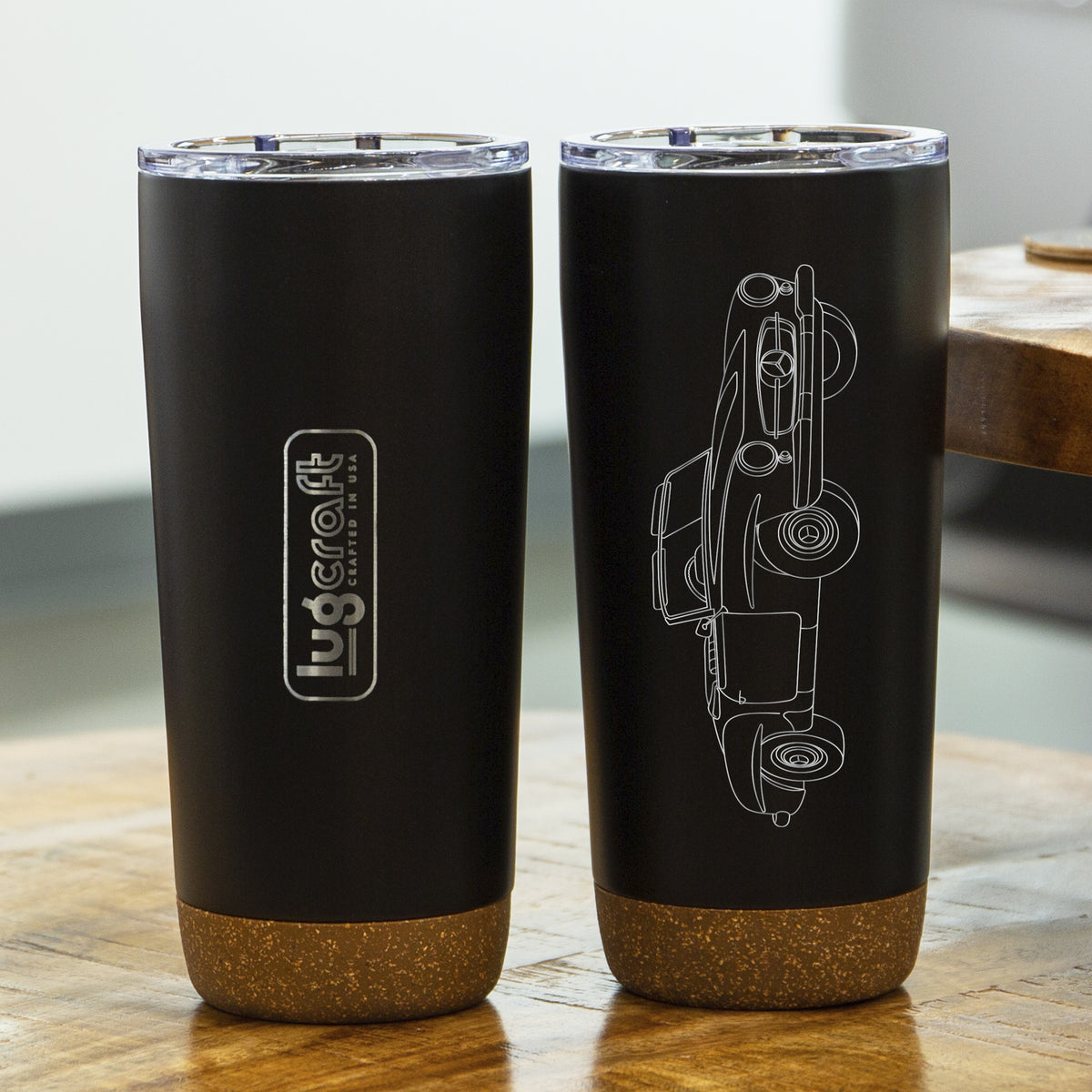 Mercedes Benz 190SL 1962 Insulated Stainless Steel Coffee Tumbler - 20 oz