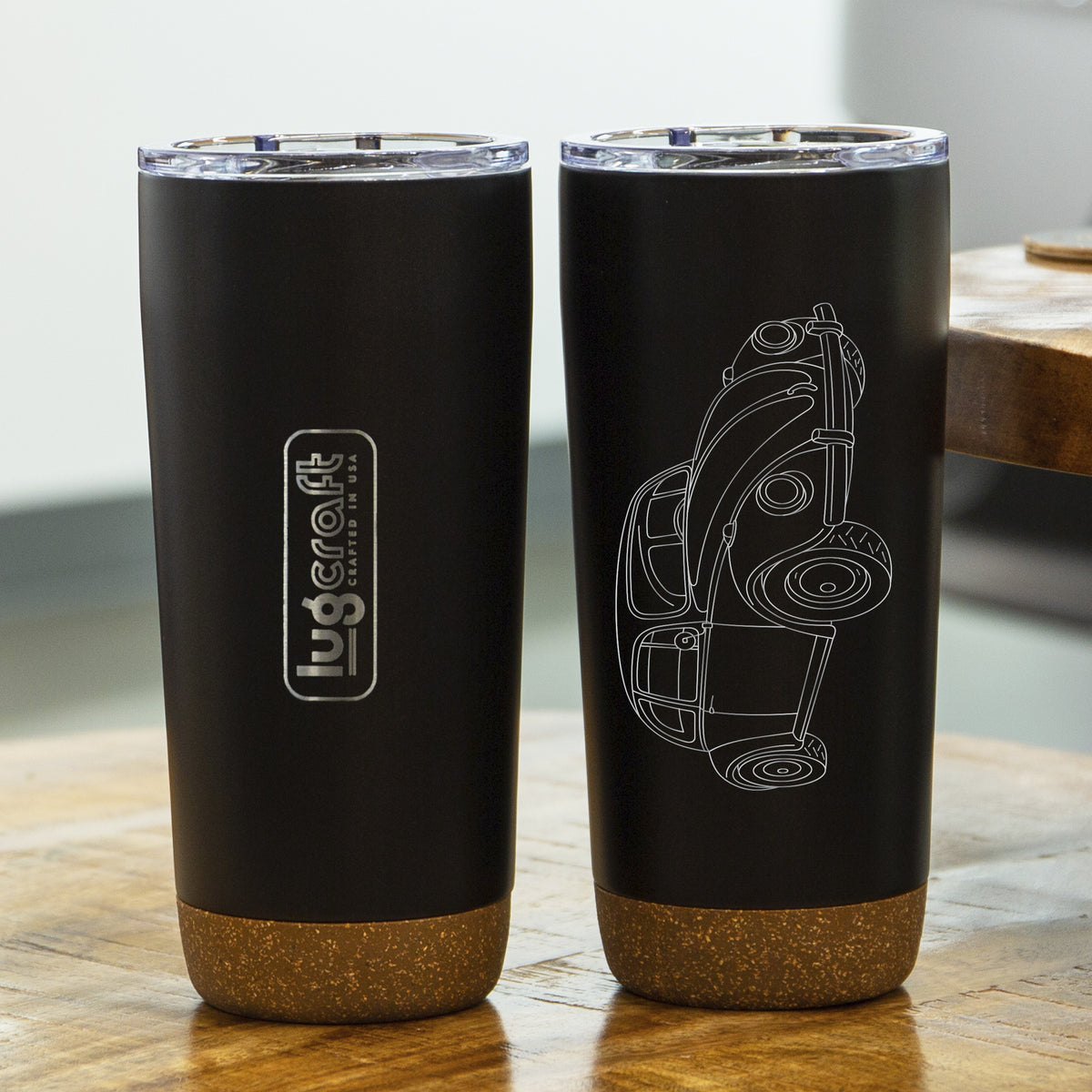 VW Beetle 1967 Insulated Stainless Steel Coffee Tumbler - 20 oz