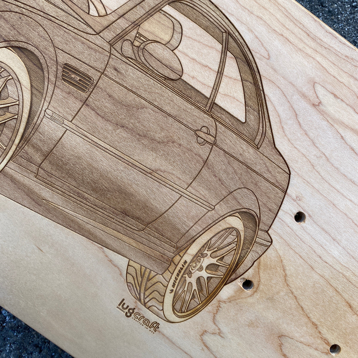 BMW M3 e46 Skateboard Deck Art