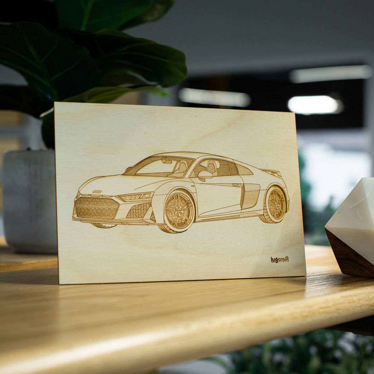 Audi R8 Collectible Engraving