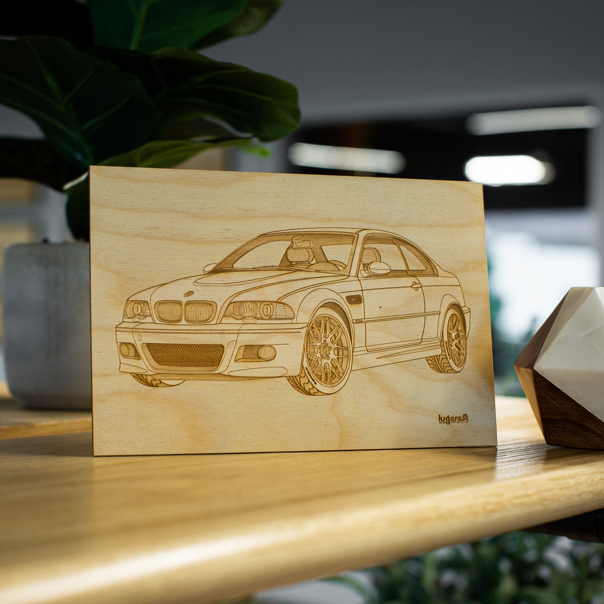 "BMW M3 e46 Collectible Engraving - 6"" x 9"""