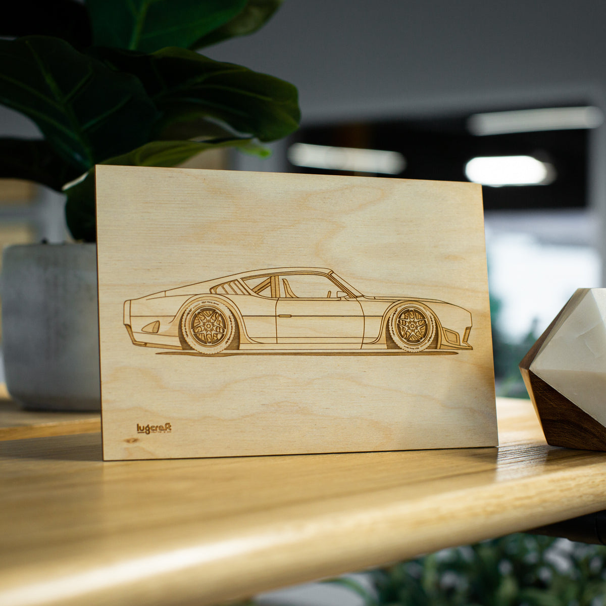 Ford Torino Hotrod Collectible Engraving