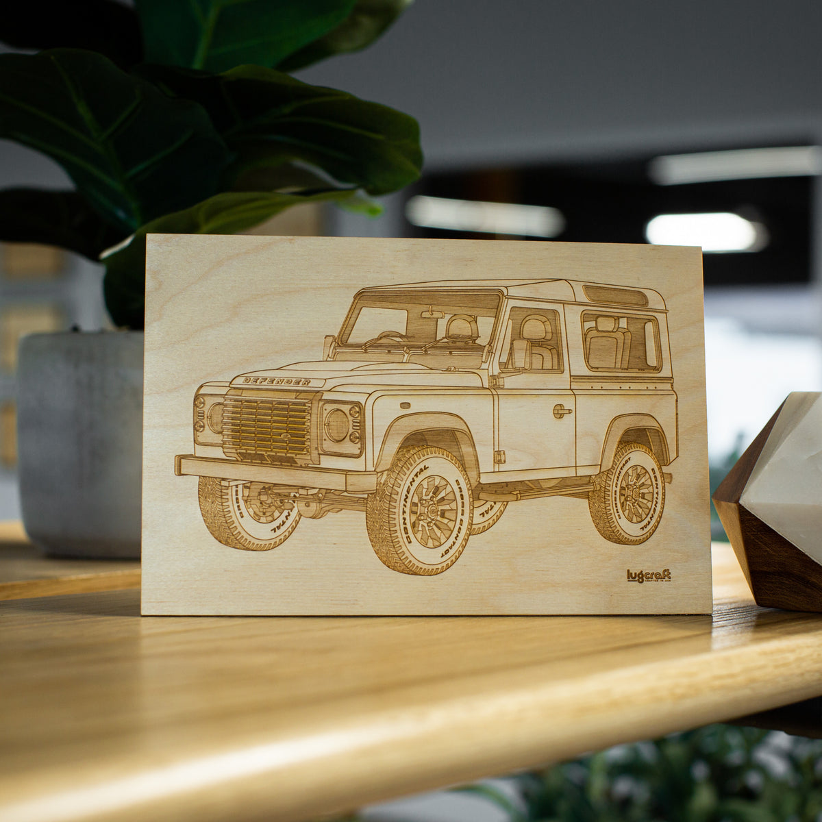 Land Rover Defender Collectible Engraving