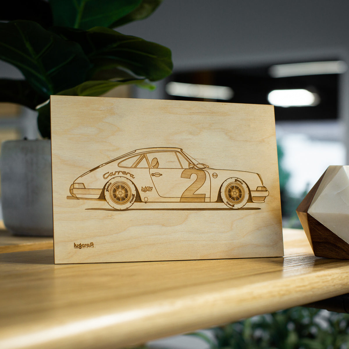 Porsche 911 Pebbles Collectible Engraving