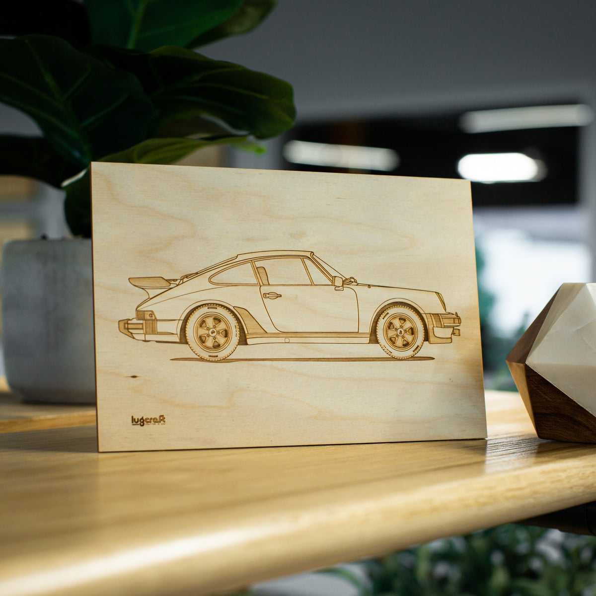 Porsche 930 Turbo Collectible Engraving