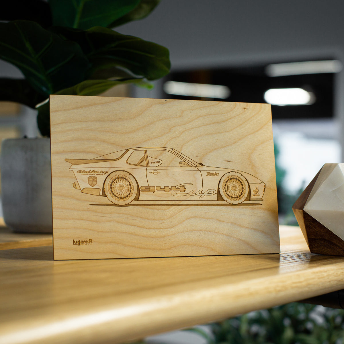 Porsche 944 Cup Collectible Engraving