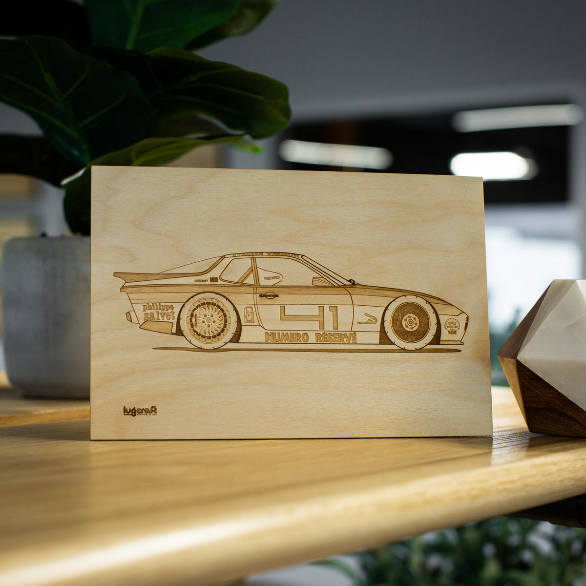 Porsche 944 Livery Collectible Engraving