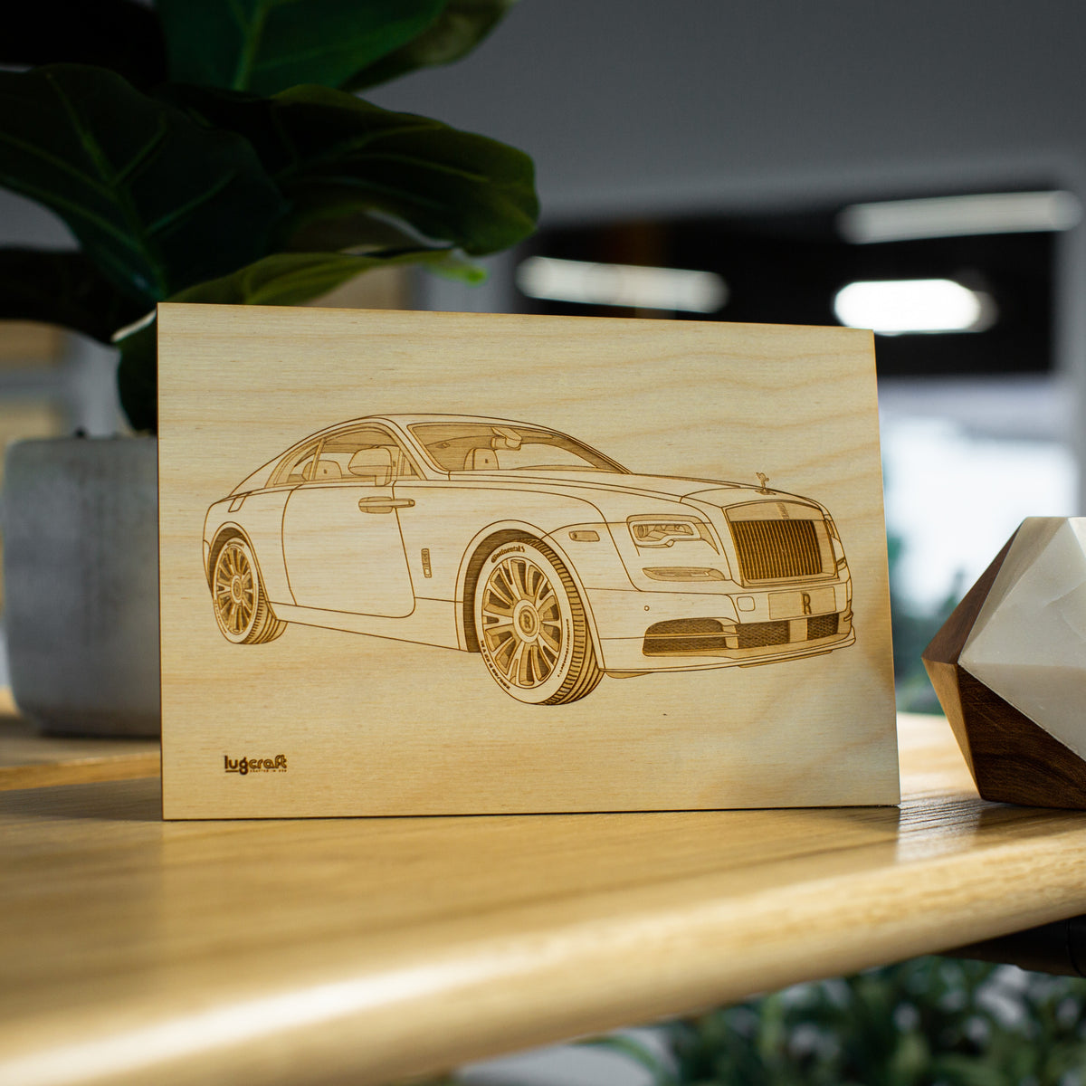 Rolls Royce Wraith Collectible Engraving