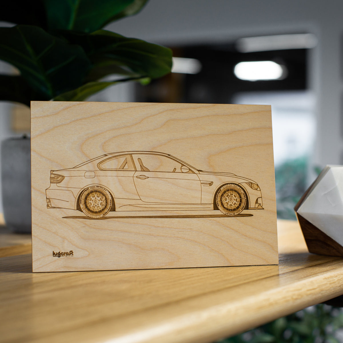 BMW M3 e92 Collectible Engraving