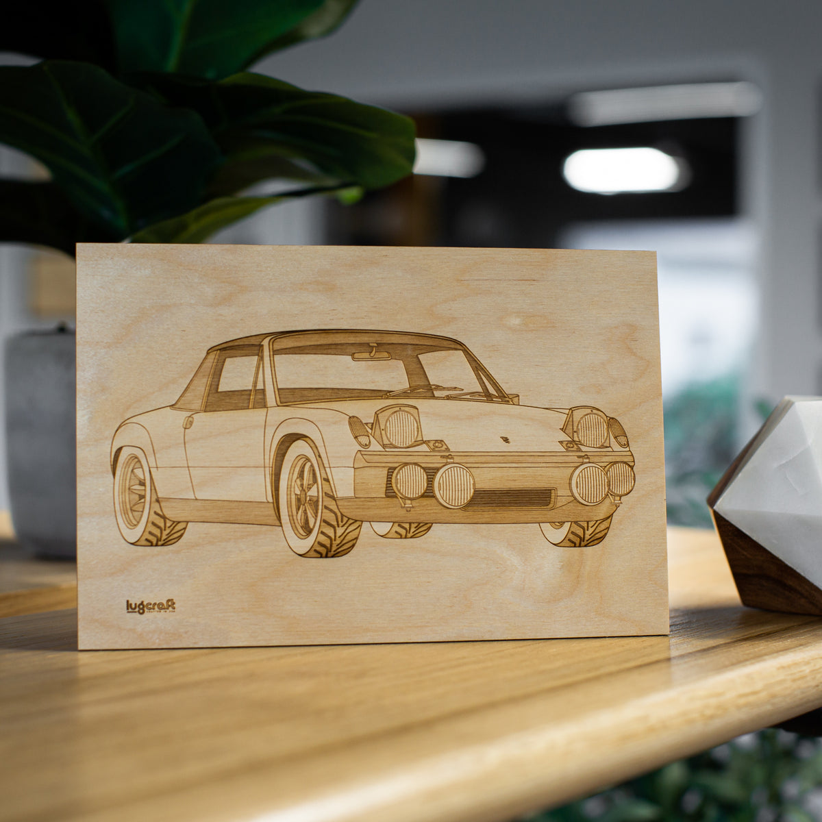 Porsche 914 Collectible Engraving