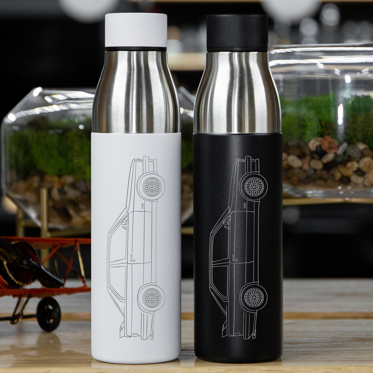 BMW M3 e30 Insulated Stainless Steel Water Bottle - 21 oz