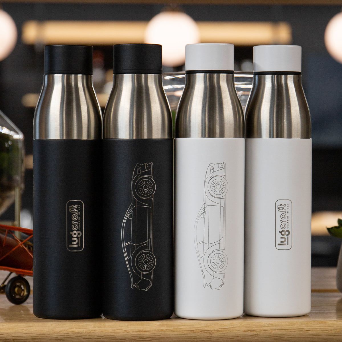 Ford Mustang Ecoboost Insulated Stainless Steel Water Bottle - 21 oz