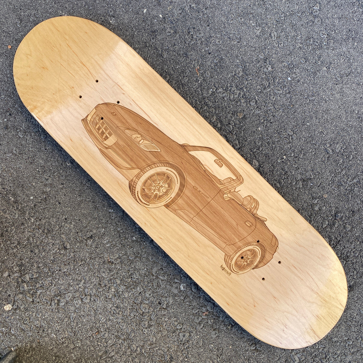 Honda S2000 Skateboard Deck Wall Art