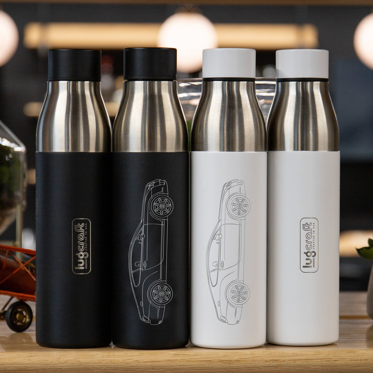 Bentley Continental GT Insulated Stainless Steel Water Bottle - 21 oz