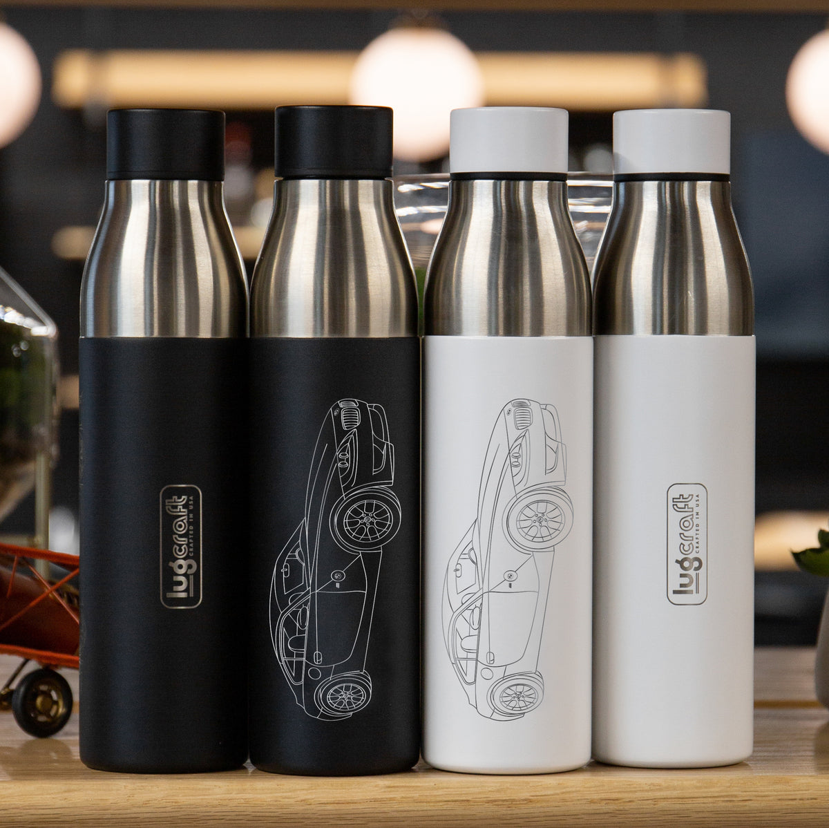 BMW Z4 e86m Coupe Insulated Stainless Steel Water Bottle - 21 oz