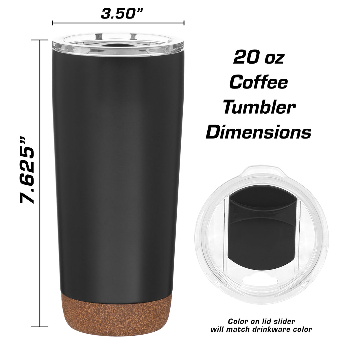 Jeep Wrangler 4 Door Insulated Stainless Steel Coffee Tumbler - 20 oz
