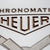 Heuer Autavia Chronomatic Skateboard Deck Art - White - Lugcraft Inc