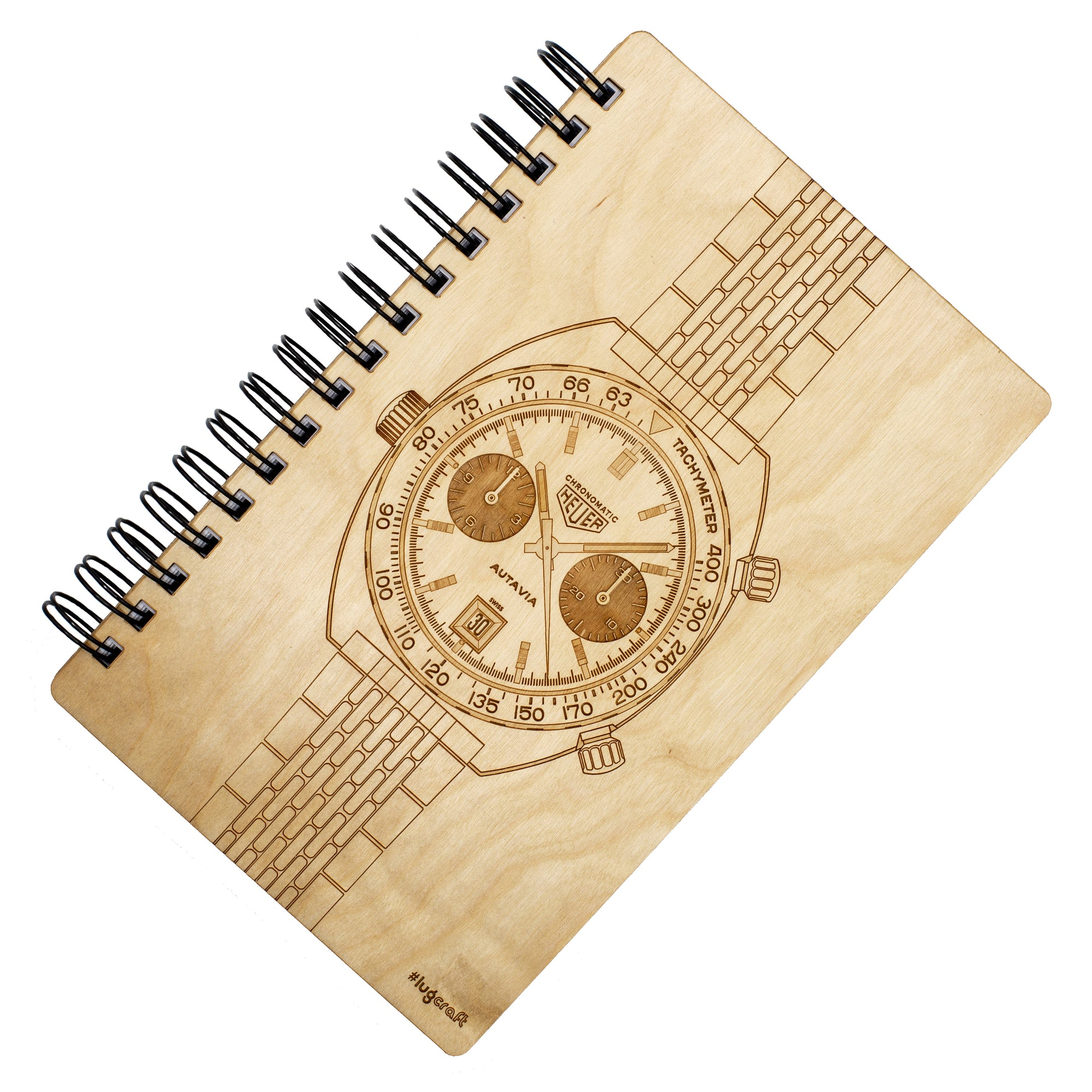 "6"" x 9"" HE Autavia Chronomatic Birch Notebook"