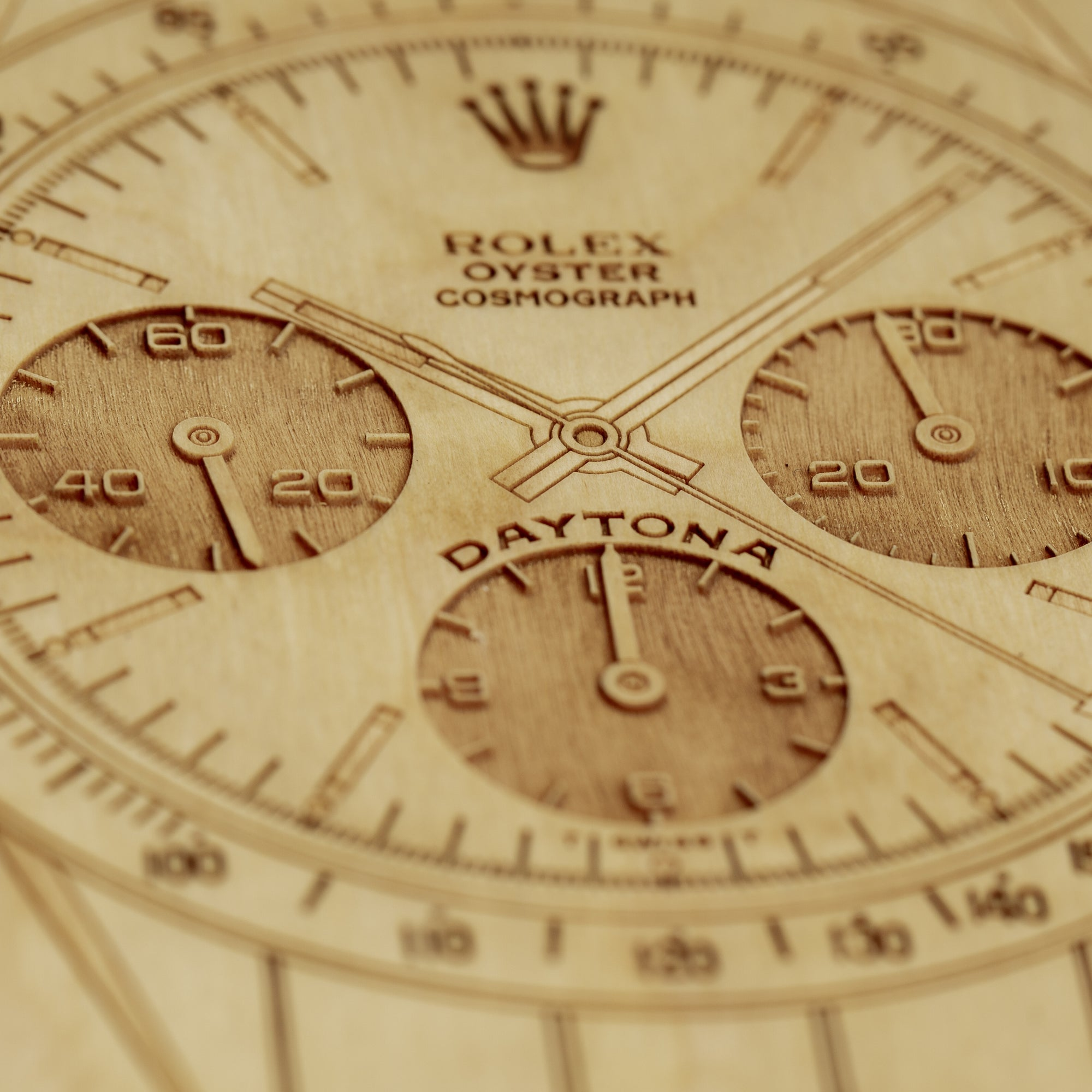 "Rolex Daytona 6263 Birch Notebook - 6"" x 9"" - Lugcraft"