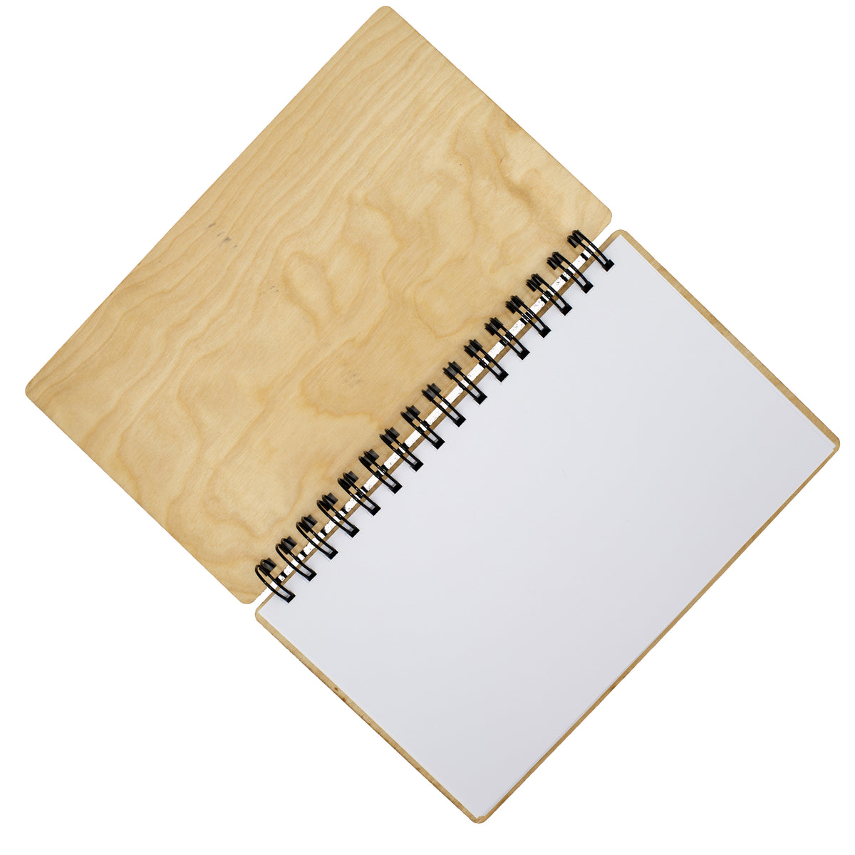 "Rolex Submariner Big Crown Birch Notebook - 6"" x 9"" - Lugcraft Inc"
