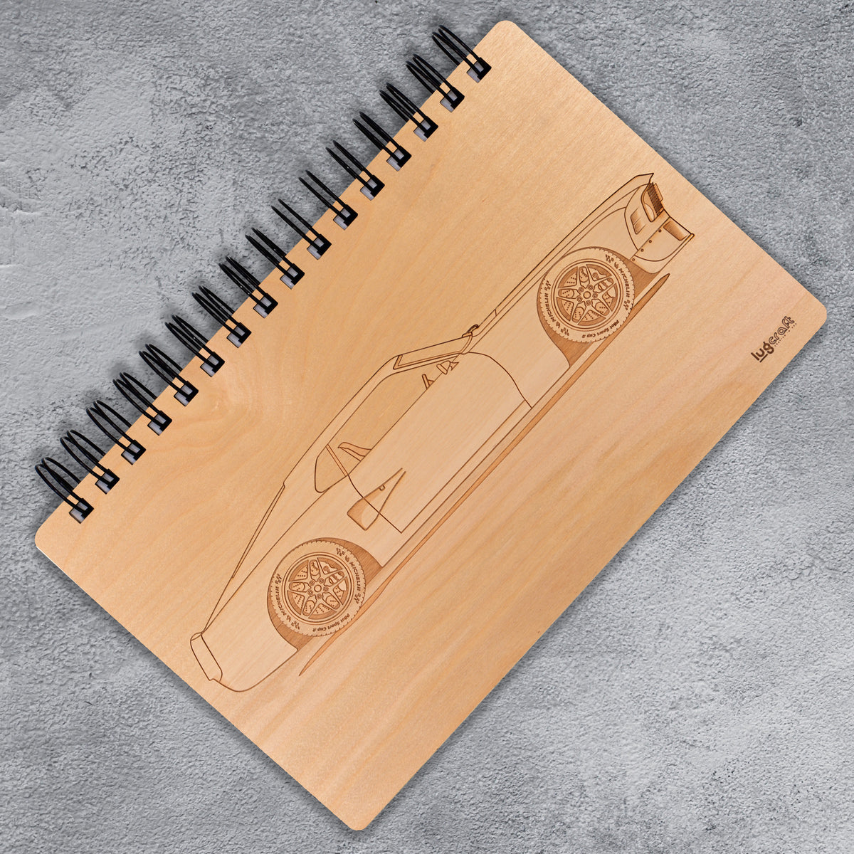 "Ford Mustang Boss Engraved Notebook - 6"" x 9"" - Lugcraft Inc"