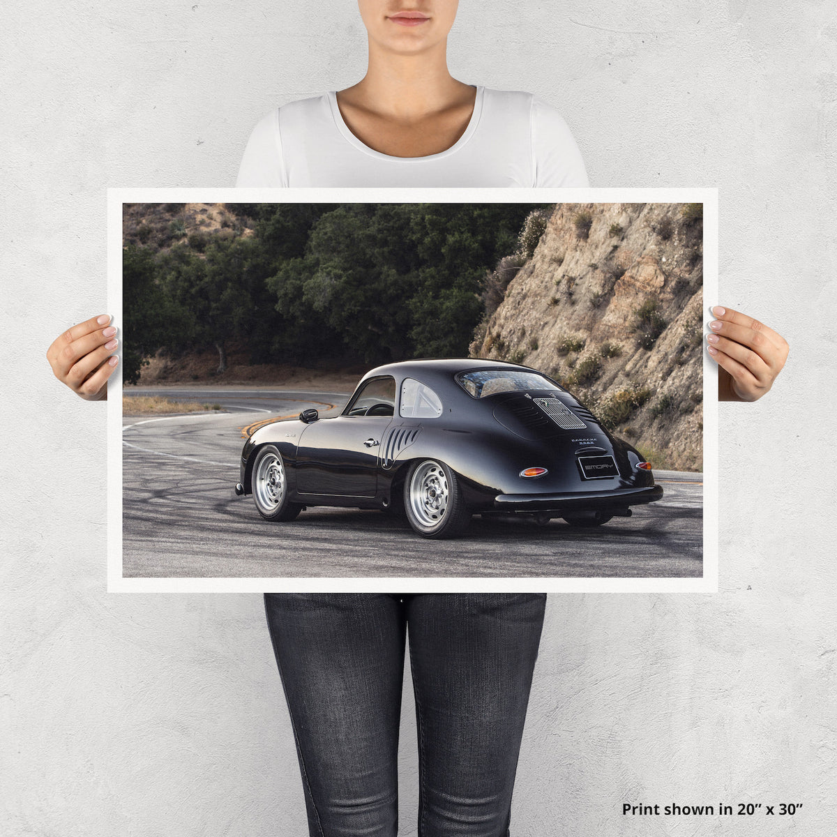 Emory Outlaw 1958 356A Special Coupe Fine Art Print - Lugcraft