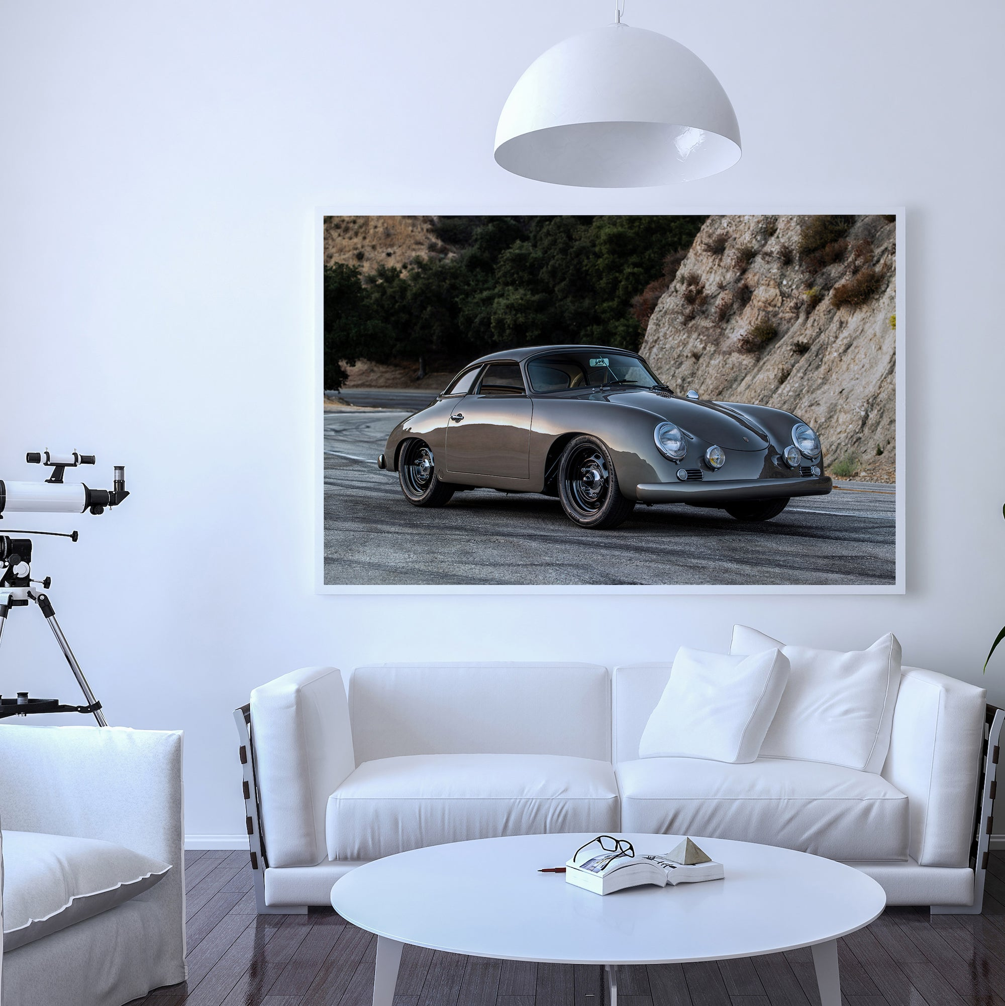 Emory Outlaw 1960 356 Special Cabriolet Fine Art Print - Lugcraft