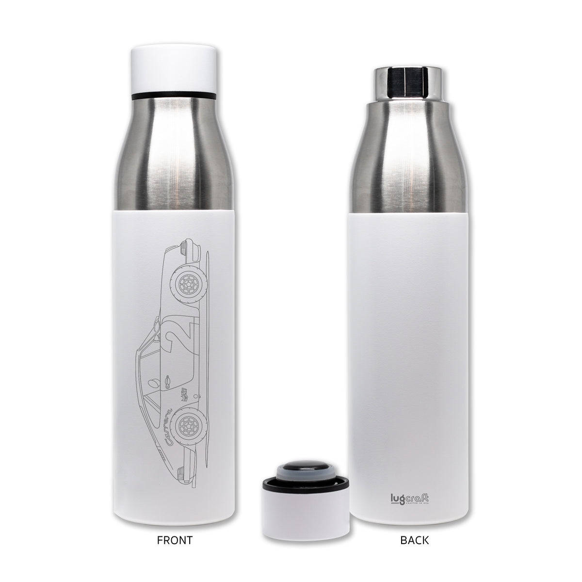 "LugCraft Thermal Bottle Porsche 911 ""Pebbles"" - 21 oz"
