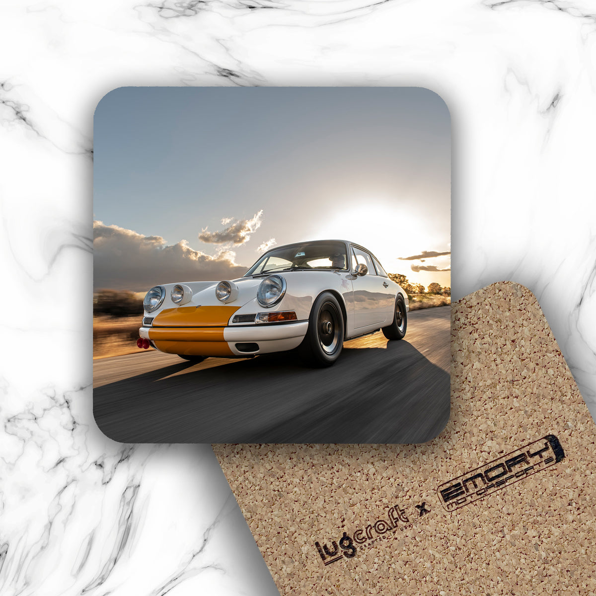Emory Outlaw 1968 911k Drink Coaster - Lugcraft