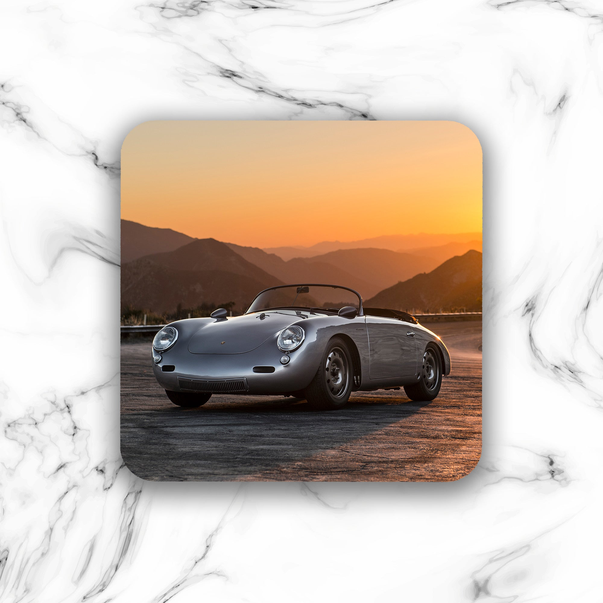 Emory Outlaw 1962 Emory Special Roadster Drink Coaster - Lugcraft