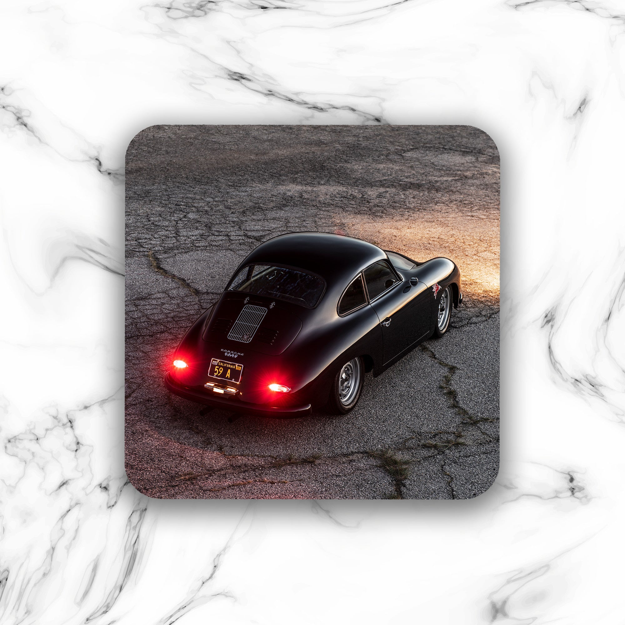 Emory Outlaw 1959 356A Special Coupe Drink Coaster - Lugcraft
