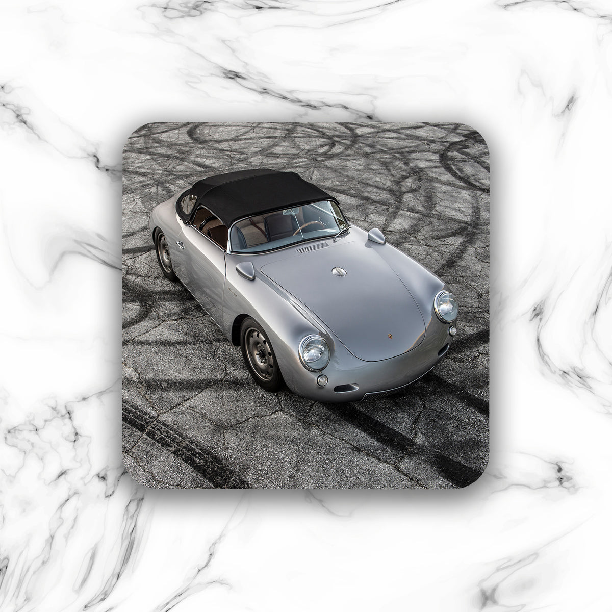 Emory Outlaw 1962 356 Special Roadster Drink Coaster - Lugcraft