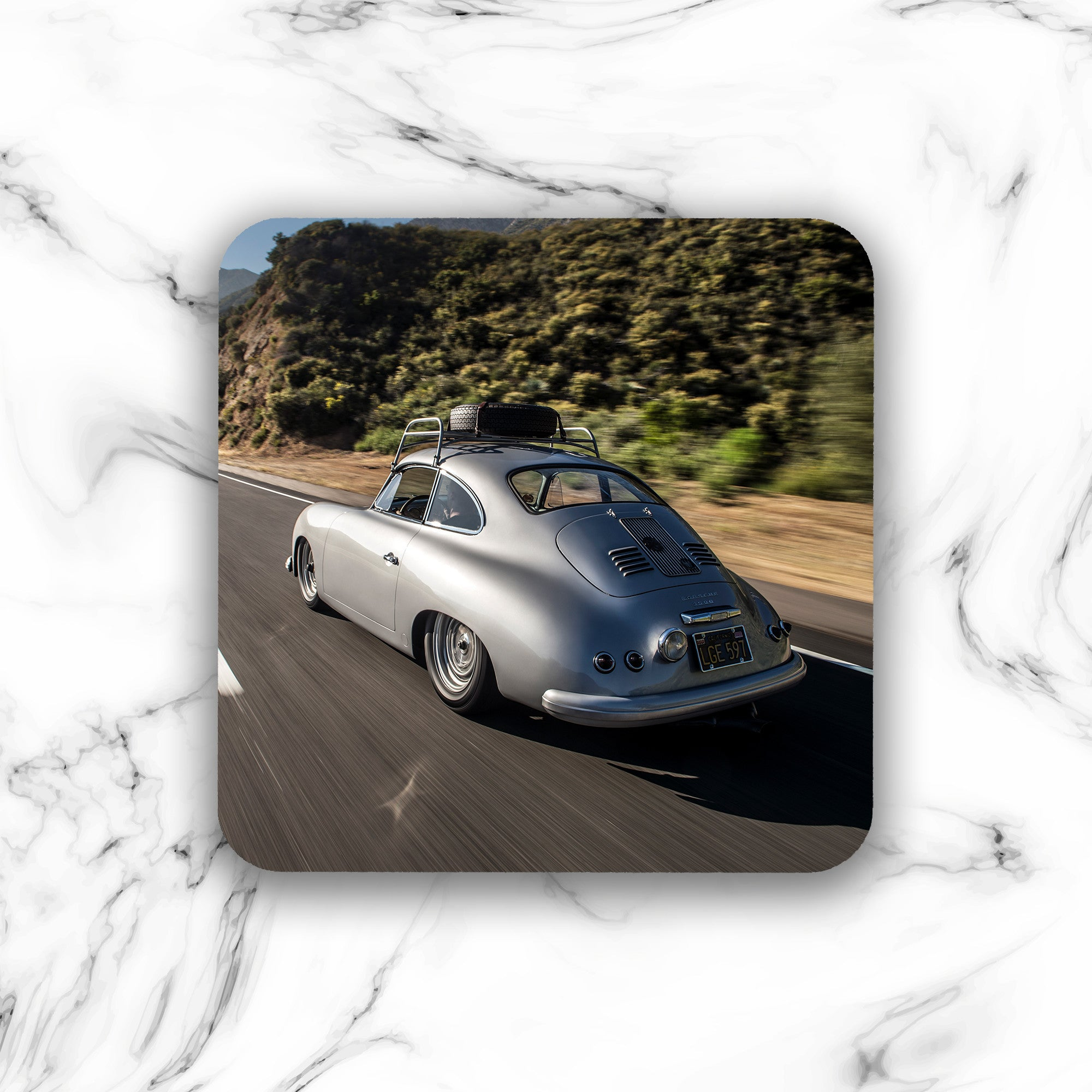 Emory Outlaw 1955 356 Coupe Drink Coaster - Lugcraft
