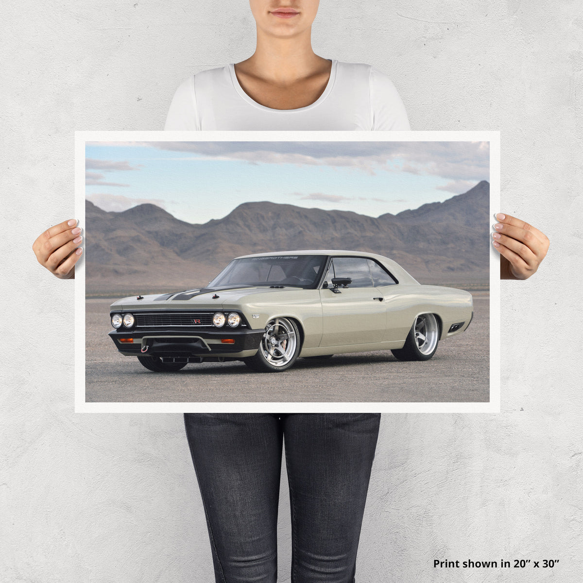 Ringbrothers RECOIL Chevelle Fine Art Print - Lugcraft Inc