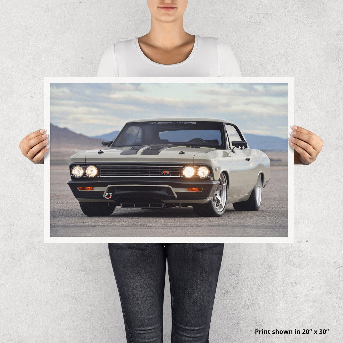 Ringbrothers Recoil Chevelle Fine Art Print - Lugcraft