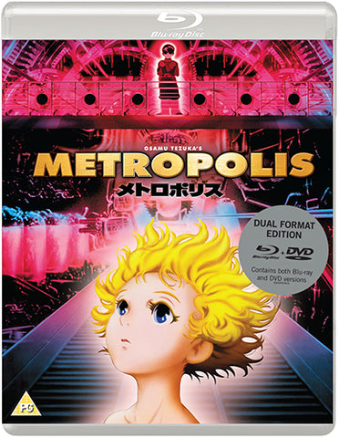 metropolis, osamu tezuka, rintaro, blu ray metropolis, eureka entertainment, anime, japanese animation, asian cinema, astroboy, galaxy express 999, akira